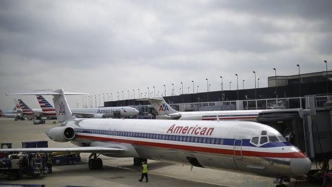 Maskapai American Airlines akan membatalkan 90 penerbangan setiap hari hingga April mendatang karena Boeing 737 MAX 8 masih dilarang beroperasi.