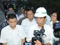 Jokowi Tinjau Pembangunan Rel Kereta Api Trans Sulawesi