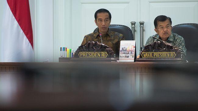 Presiden Joko Widodo meminta para menteri untuk meningkatkan alokasi anggaran belanja modal dan memangkas belanja barang dalam pagu indikatif APBN 2020.