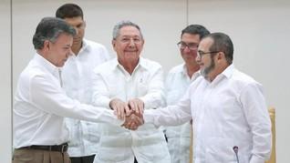 Kolombia Sepakati Perjanjian Damai Baru dengan FARC