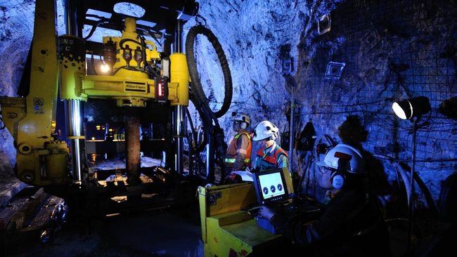 Pembangunan smelter Freeport Indonesia di Gresik baru mencapai 5,86 persen karena terhambat corona. Perusahaan tengah negosiasi untuk menunda target operasi.