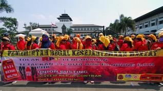 UMK 2021 Banjar Rp1,83 Juta Terendah di Jabar