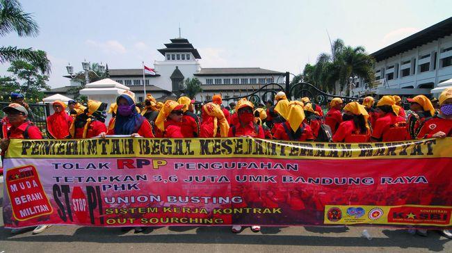 UMK Banjar ditetapkan sebesar Rp1,83 juta. Angka ini berpotensi menjadi UMK terendah di Jawa Barat.