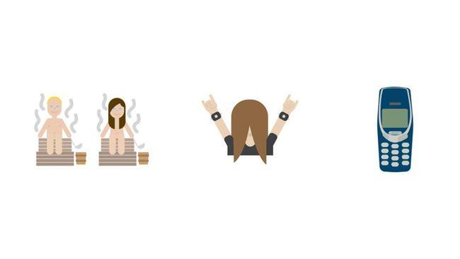 Pemerintah Finlandia meluncurkan tiga emoji yang bertujuan memberitahukan dunia tentang fitur-fitur kekuatan negara itu. Apa saja emoji-emoji itu?