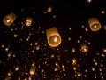 Maskapai Thailand Batalkan Penerbangan Demi Festival Lampion