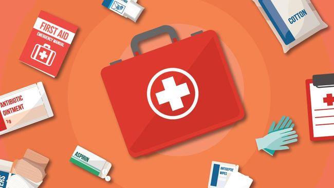 Perlengkapan berupa obat-obatan perlu dibawa selama perjalanan mudik Lebaran.