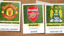 Pelafalan 20 Klub Liga Primer dalam Infografis