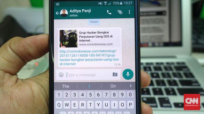 WhatsApp juga mencatat ada 42 miliar pesan, 1,6 miliar foto, dan 250 juta video yang terkirim setiap harinya.