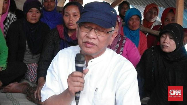 Tokoh Nadhlatul Ulama tersebut mengatakan apa yang terjadi pada alam pegunungan Kendeng membuktikan ulah dan keserakahan manusia.