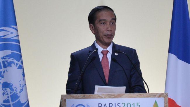 Presiden Jokowi menyebut perubahan iklim sangat berdampak bagi negara kepulauan seperti Indonesia.