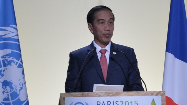 Jokowi Tagih Komitmen Negara Maju Hijaukan Dunia