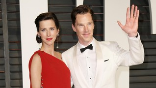 Nama Putra Ke-2 Benedict Cumberbatch Terinspirasi Shakespeare