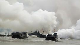 AS Hentikan Pencarian 8 Marinir di Tank Amfibi yang Tenggelam