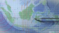 Gempa M 4,5 Terjadi di Tasikmalaya, Terasa hingga Pangandaran
