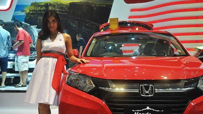 Produk baru Honda, BR-V menorehkan catatan pemesanan terbanyak yaitu 130 unit sementara 387 unit sisanya berasal dari model lainnya.