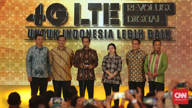 Presiden Joko Widodo hari ini, Jumat (11/12), meresmikan layanan 4G LTE yang diselenggarakan lima operator. Layanan ini sudah tersedia secara nasional.