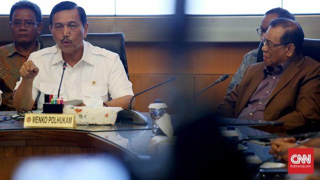 Menteri Luhut: Kisruh Freeport Rusak Harga Diri Keluarga