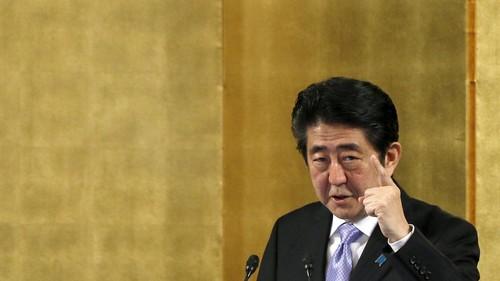 PM Jepang Galang Dukungan Dunia untuk Tekan Korea Utara
