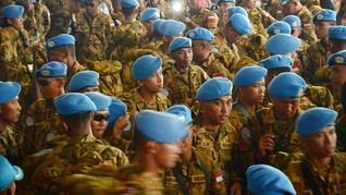 Prajurit TNI Gugur di Kongo hingga Saudi Cegat Rudal Houthi