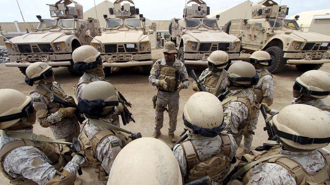 Di tengah gencatan senjata di Yaman dan perang saudara di Suriah, Saudi mengumumkan pembentukan koalisi militer 34 negara Islam melawan terorisme.