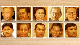 Wajah Calon Pimpinan KPK Periode 2015-2019
