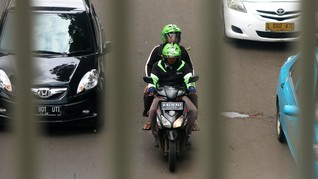 Izinkan Ojol saat PSBB, Polisi Singgung Dualisme Aturan