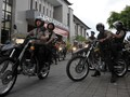 Aparat Patroli Bubarkan Kerumunan Massa Jelang PSBB Jakarta