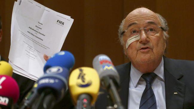 Mantan Presiden FIFA, Sepp Blatter bakal hadir di Piala Dunia 2018 sebagai tamu undangan Presiden Rusia Vladimir Putin.
