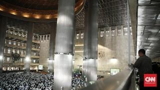 Istiqlal Buka Kemungkinan Gelar Salat Idul Adha