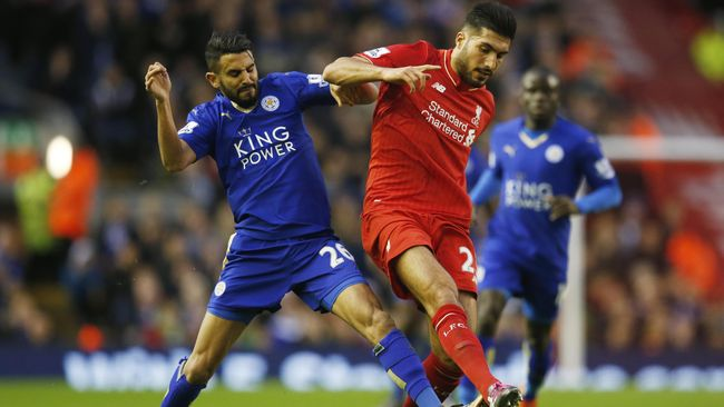 Babak Pertama Liverpool Vs Leicester Masih Imbang