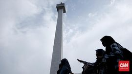 Lidah Api, 'Harta Karun' Indonesia di Puncak Monas