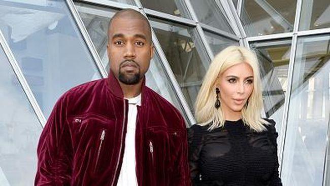 Kanye West Calonkan Diri Jadi Presiden, Kim Kardas