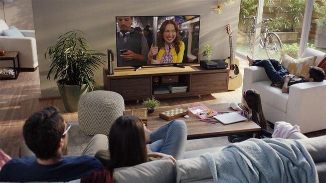 Ilustrasi pengguna layanan streaming film Netflix