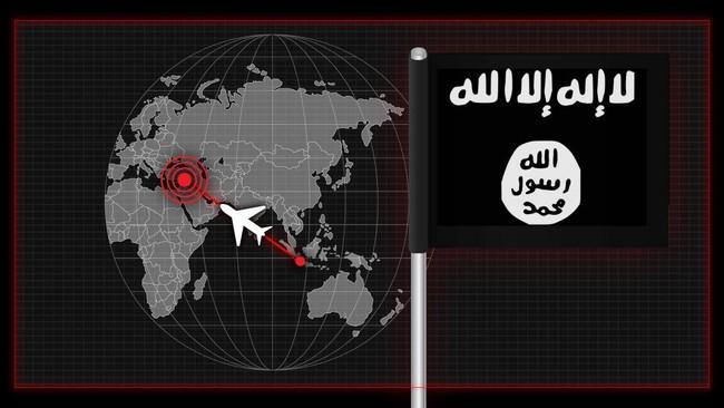 Infografis: Pendukung ISIS dan Peta Menuju Suriah