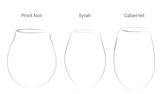 Satu penelitian menyebutkan bahwa bentuk gelas mempengaruhi cita rasa minuman anggur sehingga konsumen bisa merasakan komponen-komponennya dengan lebih rinci.