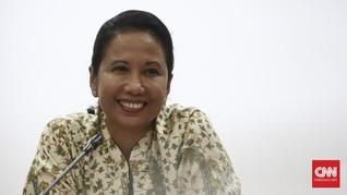 Menteri Rini Selalu Buka Puasa dengan Air Kelapa