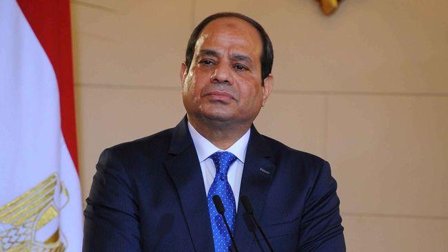 Kembali Menjabat Presiden Mesir, Sisi Sumpah Tumpas Teroris