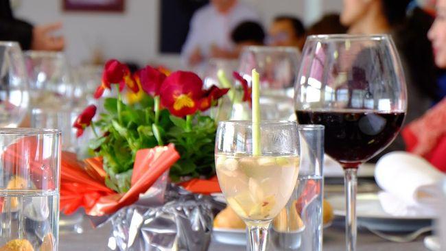 Jahe serai lemon yang disajikan dalam acara makan siang bersama Gredos San Diego Gastronomy School di Spanyol, mencuri perhatian.