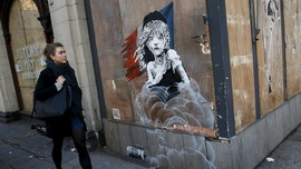 Lokasi Coretan Banksy di Penjuru Dunia