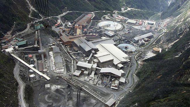 Pembangunan smelter PT Freeport Indonesia masih di bawah target perusahaan karena per Februari 2019 kemarin baru berhasil mencapai 3,86 persen.