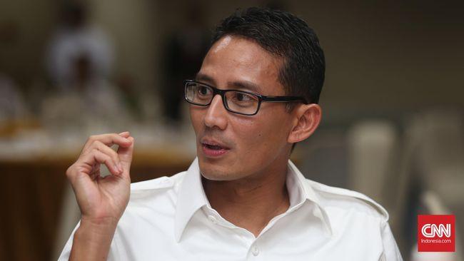 Kedekatannya dengan Gamal diceritakan Sandi karena keduanya sama-sama aktif merancang wirausaha sosial.