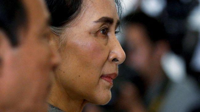 Suu Kyi Batal Kunjungi PBB di Tengah Krisis Rohingya