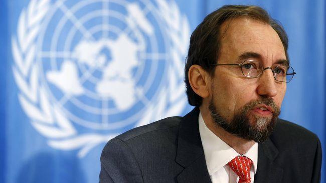 Komisaris Tinggi HAM PBB Zeid Ra'ad Al Hussein mengkhawatirkan sejumlah revisi dalam KUHP yang dia sebut melegalkan diskriminasi atas minoritas termasuk LGBT.