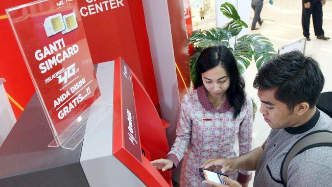 Dirut Telkomsel mengatakan bukan bonus kuota 10GB yang bisa membuat pelanggan untuk registrasi, melainkan blokir dari pemerintah.