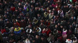 Jelang Imlek, Miliaran Orang Mudik Massal di China