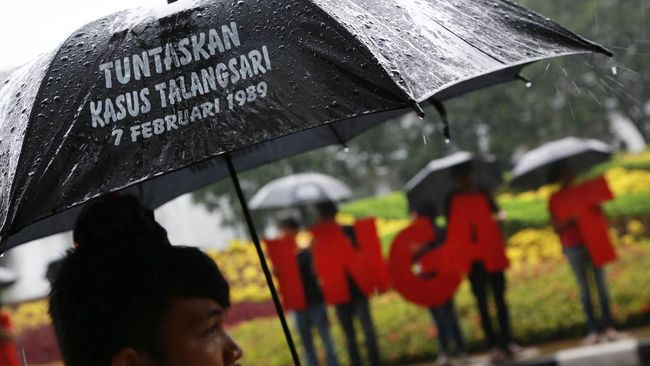 Jaksa Agung ST Burhanuddin mengakui pihaknya belum memeriksa terduga pelaku pelanggaran HAM berat dalam Peristiwa Talangsari 1989.