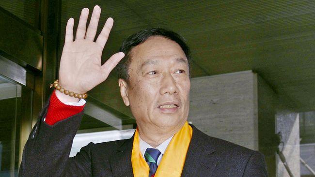 Usai Pensiun, Pendiri Foxconn Mau Maju di Pilpres Taiwan