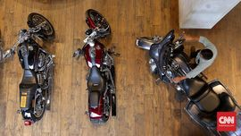 Hitung-hitung Dana Ratusan Juta Pelihara Moge Harley-Davidson
