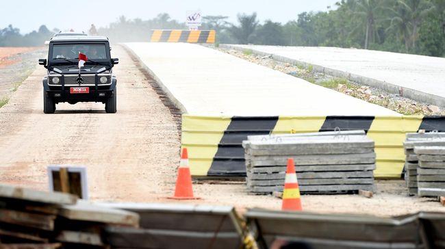 Presiden Jokowi dijadwalkan meresmikan jalan tol Trans Sumatera ruas Terbanggi Besar-Pematang Panggang-Kayu Agung pada Jumat (15/11).