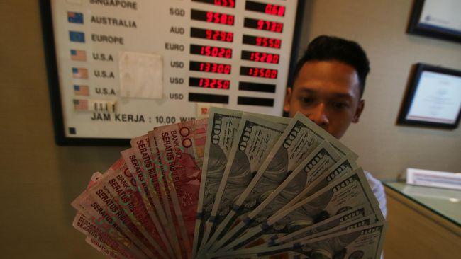Nilai tukar rupiah melemah 0,16 persen ke Rp14.425 per dolar AS pada perdagangan Rabu (23/6) pagi.